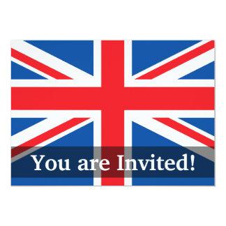 United Kingdom Plain Flag Card