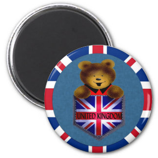 United Kingdom Pocket Bear Magnet