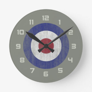 United Kingdom roundel Round Clock