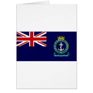 United Kingdom Sea Cadet Corps Flag Card