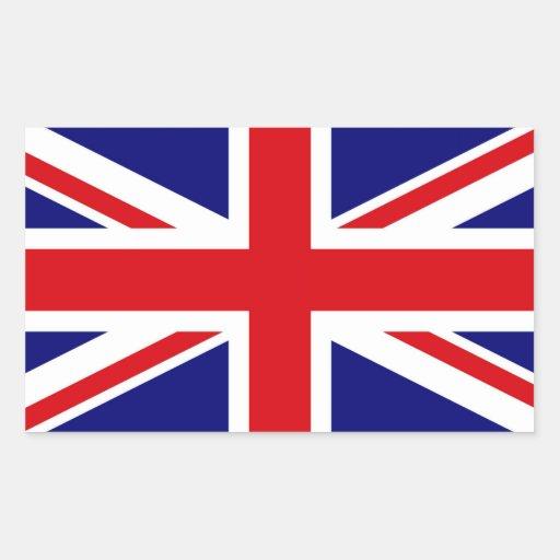 UNITED KINGDOM RECTANGULAR STICKER