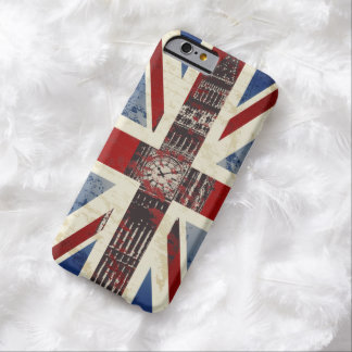 United Kingdom Symbols Barely There iPhone 6 Case