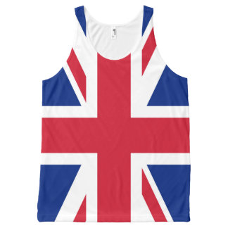 United Kingdom UK Flag All-Over-Print Tank Top