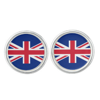 United Kingdom UK Flag Cufflinks