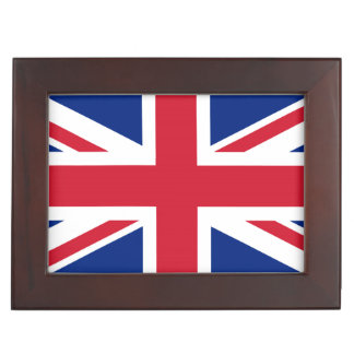 United Kingdom UK Flag Memory Box