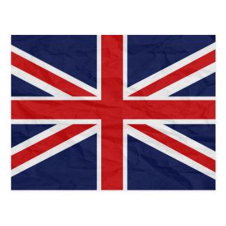 United Kingdom Union Jack Flag Postcard