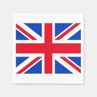 United Kingdom Union Jack Paper Party Napkins Paper Napkin
