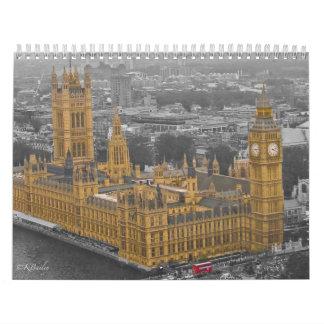 United Kingdom Wall Calendar