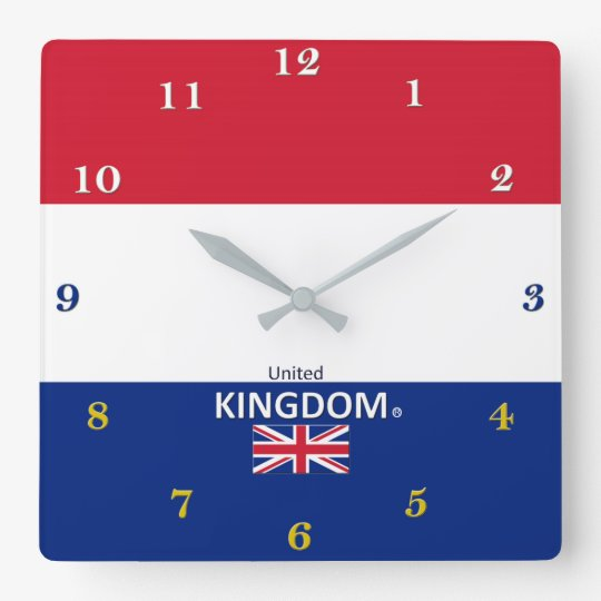 United Kingdom Wall Clock