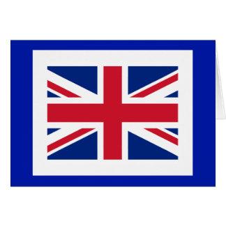 United Kingdon Flag The MUSEUM Zazzle Greeting Card