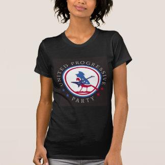 United Progressive Party Rock n Roll Logo T-Shirt