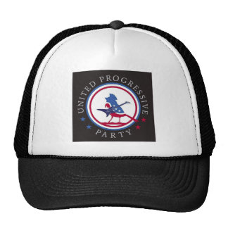 United Progressive Party Rock n Roll Logo Trucker Hat