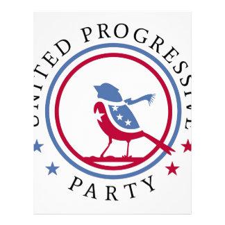United Progressive Party Scarf Logo Merchandise Custom Letterhead