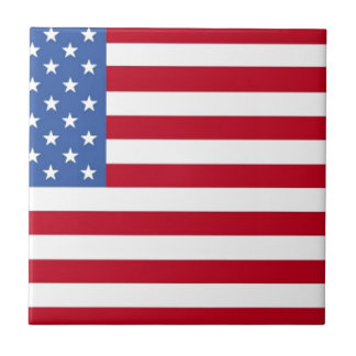 United State of America Flag Tiles