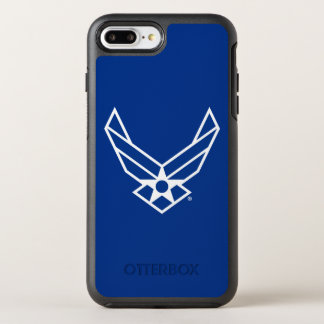 United States Air Force Logo - Blue OtterBox Symmetry iPhone 8 Plus/7 Plus Case