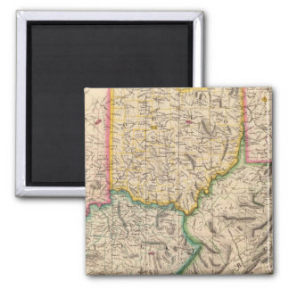 United States, America Sep 50 Square Magnet
