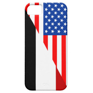 united states america yemen half flag usa country case for the iPhone 5