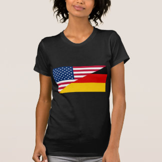 United States And Germany, hybrids flag T-Shirt