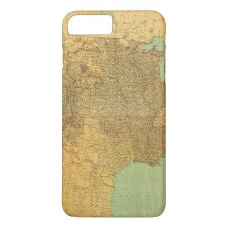 United States and Territories iPhone 7 Plus Case