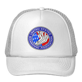 United States Boomerang Association cap Trucker Hat