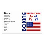 United States Boxin Business Card Templates