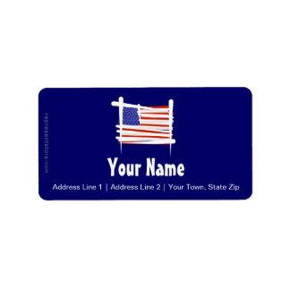 United States Brush Flag