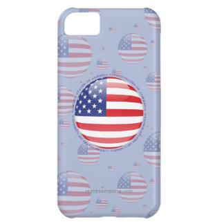 United States Bubble Flag iPhone 5C Case