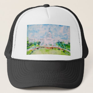 united states capitol trucker hat