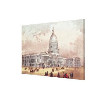 United States Capitol, Washington D.C. Gallery Wrap Canvas