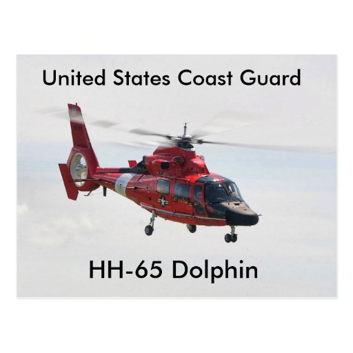United States Coast Guard, HH-65 Dolphin Post Cards