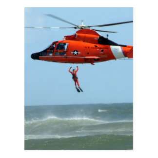 United States Coast Guard Search and Rescue Postcard