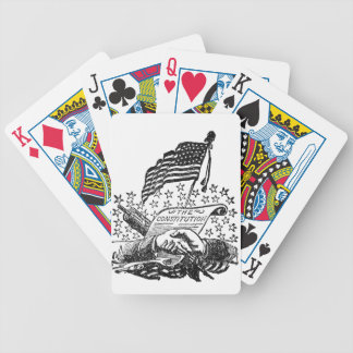 United States Constitution Bicycle Playing Cards