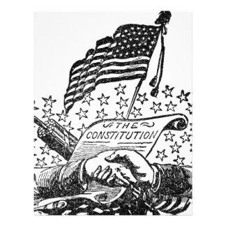 United States Constitution Letterhead