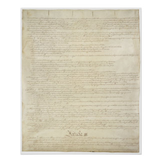 United States Constitution_Pg 2 of 4 Poster