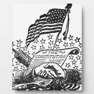 United States Constitution Plaque