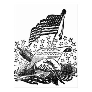 United States Constitution Postcard