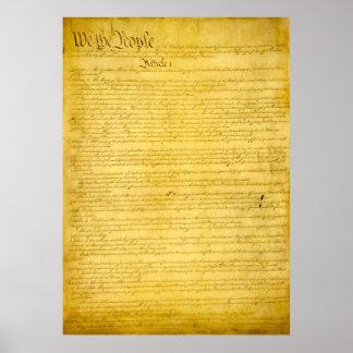 United States Constitution Print