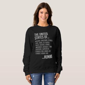 United States Dark Women's Basic Sweatshirt