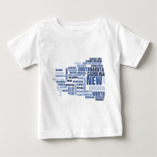United States Divided We Fall HQ Apparel Baby T-Shirt