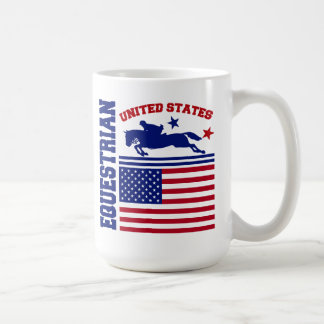 United States Equestrian Coffee Mug