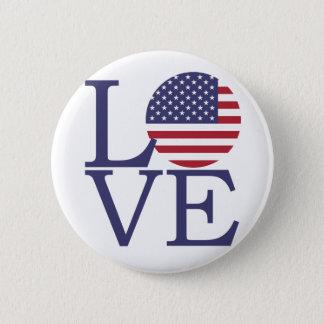 United States Flag 2 Inch Round Button