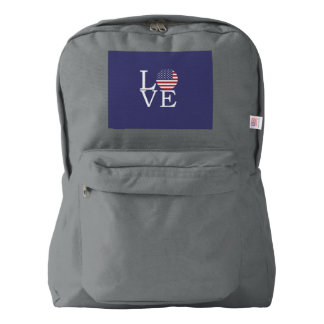 United States Flag Backpack