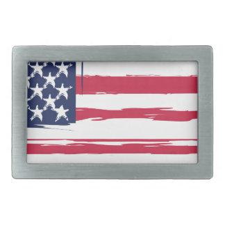 UNITED STATES flag Belt Buckle