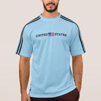United States Flag (Black Text) T-Shirt