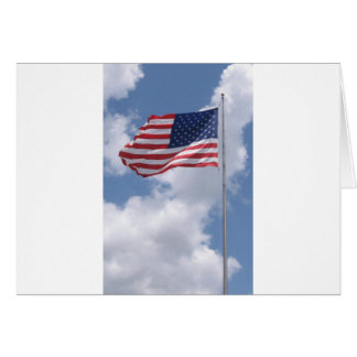 United States Flag Greeting Cards