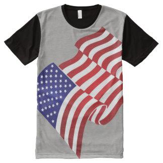 United States Flag full wave