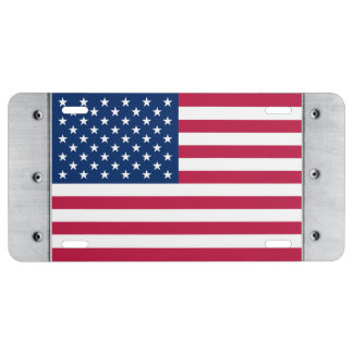 United States Flag License Plate