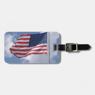 United States Flag Tags For Bags