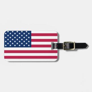 United States Flag Luggage Tag