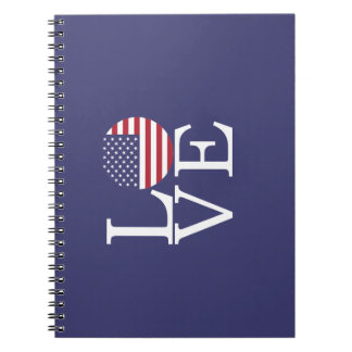 United States Flag Notebooks